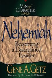 Cover of: Nehemiah | Gene A. Getz