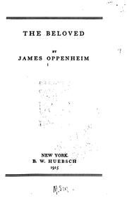Cover of: The beloved by Oppenheim, James