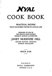Cover of: Nyal cook book | Janet McKenzie Hill