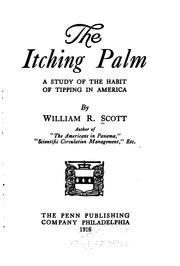 Cover of: The itching palm | William Rufus Scott