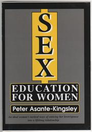 Cover of: Sex Education for Women | Peter Asante Kingsley