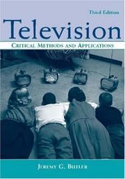 Cover of: Television by Jeremy G. Butler