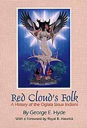 Cover of: Red Cloud's Folk by George E. Hyde