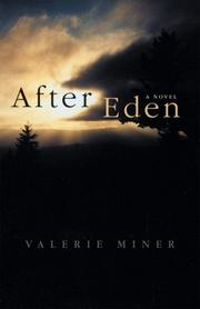 Cover of: After Eden by Valerie Miner