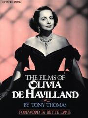 Cover of: The Films Of Olivia De Havilland by Heinz Becker