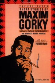 Cover of: The story of a novel by Maksim Gorky
