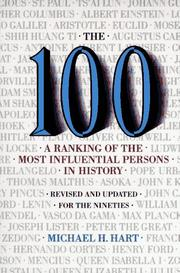 Cover of: The 100 by Michael H. Hart