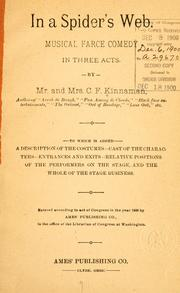 Cover of: In a spider's web by C. F. Kinnaman