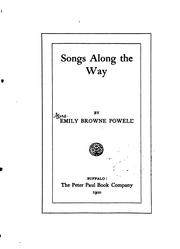 Cover of: Songs Along The Way by Emily Browne Powell