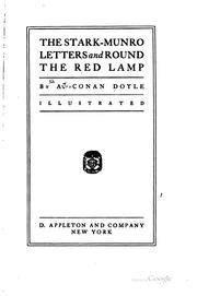 Cover of: The Stark-Munro letters and Round the red lamp by Sir Arthur Conan Doyle