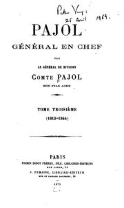 Cover of: Pajol | Pajol, Charles Pierre Victor comte