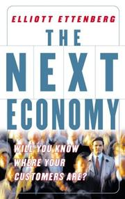 Cover of: The Next Economy | Elliot Ettenberg