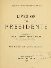 Cover of: Lives of the presidents | J. J. McCarthy