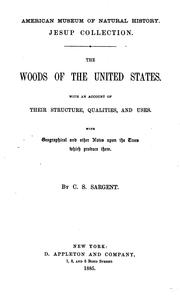 Cover of: The woods of the United States by Sargent, Charles Sprague