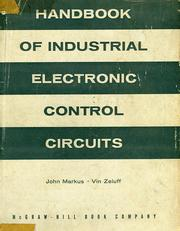 Cover of: Handbook of industrial electronic control circuits | John Markus