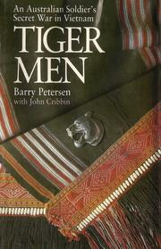 Cover of: Tiger men by Barry Petersen