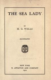 Cover of: The sea lady by H. G. Wells