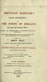Cover of: Drunken Barnaby's four journeys to the north of England by Richard Brathwaite