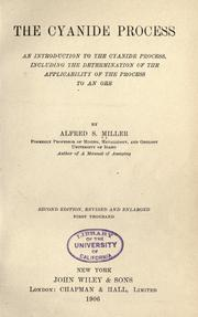 Cover of: The cyanide process by Alfred S. Miller