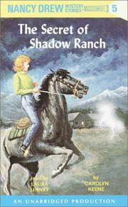 Cover of: The Secret of Shadow Ranch (Nancy Drew Mystery Stories: #5) by Carolyn Keene