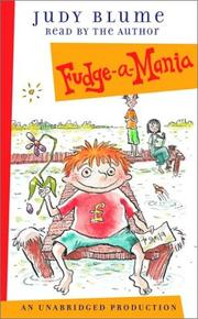 Double Fudge by Judy Blume chapter book  (Hardcover)  Gr 3-5