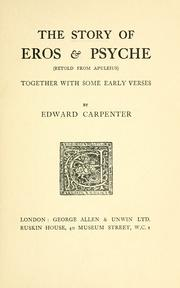 The story of Eros and Psyche