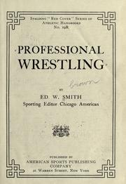 Cover of: Professional wrestling | Ed W. Smith