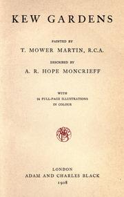 Cover of: Kew gardens by Moncrieff, A. R. Hope