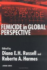 Cover of: Femicide in Global Perspective | Roberta A. Harmes