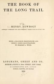 Cover of: The book of the long trail | Newbolt, Henry John Sir