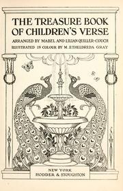 The treasure book of children's verse