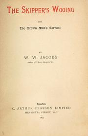 Cover of: The skipper's wooing by W. W. Jacobs