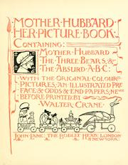 Mother Hubbard her picture book