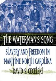 Cover of: The Waterman's Song | David S. Cecelski