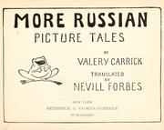 More Russian picture tales