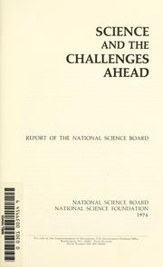 Cover of: Science and the challenges ahead by National Science Board (U.S.)