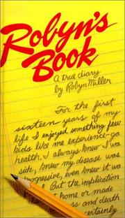Cover of: Robyn's Book by Robyn Miller