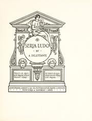 Cover of: Seria ludo by Darling, Charles J. Darling Baron