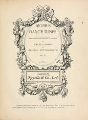 Cover of: Morris dance tunes | Cecil J. Sharp