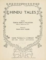 Cover of: Hindu tales retold by Teresa Peirce Williston