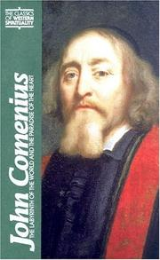 Cover of: John Comenius by Howard Louthan