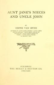 Cover of: Aunt Jane's nieces and Uncle John by L. Frank Baum