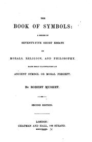 Cover of: The book of symbols | Robert Mushet