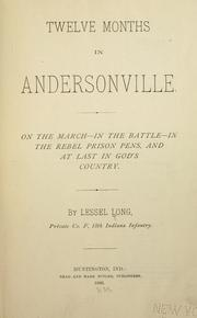 Cover of: Twelve months in Andersonville | Lessel Long