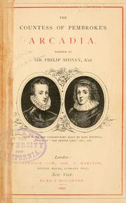 Cover of: Arcadia by Sidney, Philip Sir