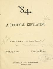 Cover of: '84, a political revelation | H. Grattan Donnelly