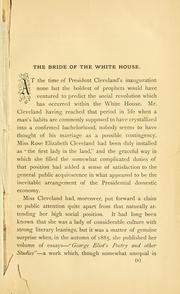 Cover of: The bride of the White House | Francis Howard Williams