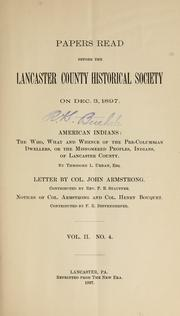 Cover of: American Indians by Theodore L. Urban