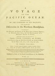 Cover of: A voyage to the Pacific Ocean | James Cook