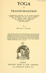 Cover of: Yoga, or, Transformation by Flagg, William Joseph